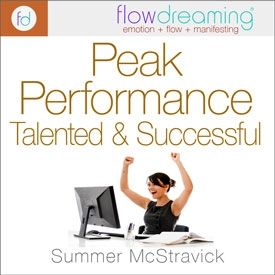 Talented and Successful: Peak Performance